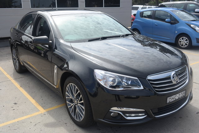 Used Holden Calais VF II MY16 Maryville, 2016 Holden Calais VF II MY16 Black 6 Speed Sports Automatic Sedan