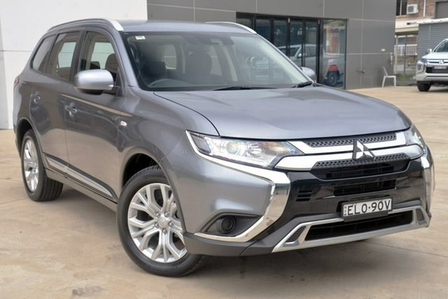 Used Mitsubishi Outlander ZL MY19 ES AWD Tuggerah, 2019 Mitsubishi Outlander ZL MY19 ES AWD Grey 6 Speed Constant Variable Wagon