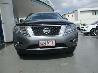 2016 Nissan Pathfinder R52 MY15 ST (4x4) Grey Continuous Variable Wagon