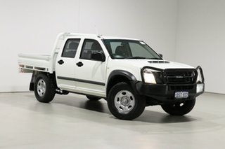 2011 Isuzu D-MAX TF MY10 SX (4x4) White 5 Speed Manual Crew Cab Chassis.