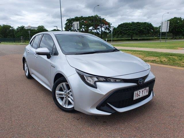 Used Toyota Corolla ZWE211R Ascent Sport E-CVT Hybrid Townsville, 2018 Toyota Corolla ZWE211R Ascent Sport E-CVT Hybrid Classic S 10 Speed Constant Variable Hatchback