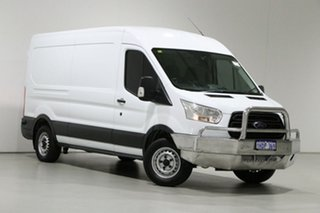 2014 Ford Transit VO MY14.5 350L LWB Mid Roof White 6 Speed Manual Van.