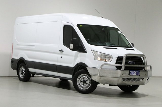 Used Ford Transit VO MY14.5 350L LWB Mid Roof Bentley, 2014 Ford Transit VO MY14.5 350L LWB Mid Roof White 6 Speed Manual Van