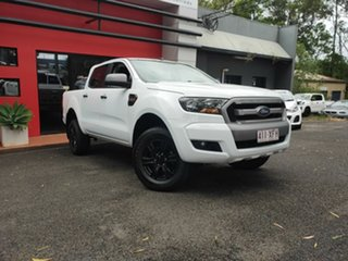 2017 Ford Ranger PX MkII 2018.00MY XLS Double Cab White 6 Speed Sports Automatic Utility.