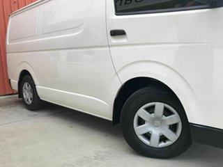 2011 Toyota HiAce TRH201R MY11 LWB White 4 Speed Automatic Van