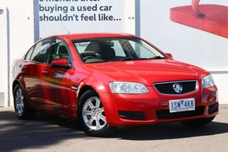 2011 Holden Commodore VE II Omega Red 6 Speed Sports Automatic Sedan.