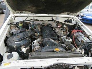 2005 Toyota Landcruiser HDJ79R (4x4) White 5 Speed Manual 4x4 Cab Chassis