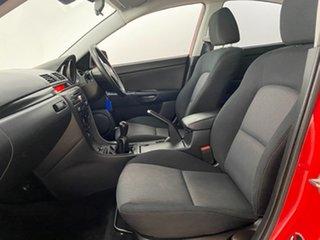 2008 Mazda 3 BK MY08 Maxx Sport Red 5 Speed Manual Sedan