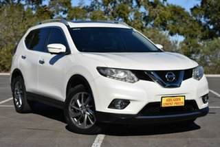 2015 Nissan X-Trail T32 TL X-tronic 2WD White 7 Speed Constant Variable Wagon.
