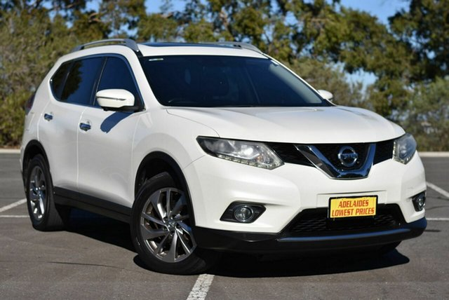 Used Nissan X-Trail T32 TL X-tronic 2WD Enfield, 2015 Nissan X-Trail T32 TL X-tronic 2WD White 7 Speed Constant Variable Wagon