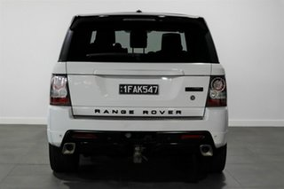 2011 Land Rover Range Rover Sport L320 11MY TDV6 Autobiography White 6 Speed Sports Automatic Wagon