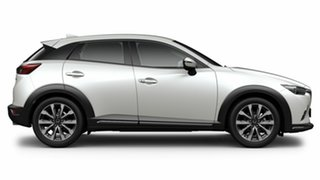2021 Mazda CX-3 DK2W7A sTouring SKYACTIV-Drive FWD Snowflake White Pearl 6 Speed Sports Automatic.