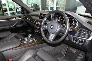 2016 BMW X5 F15 xDrive25d Black 8 Speed Automatic Wagon.