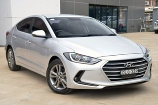2017 Hyundai Elantra AD MY17 Active Silver 6 Speed Manual Sedan.