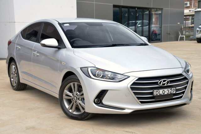 Used Hyundai Elantra AD MY17 Active Tuggerah, 2017 Hyundai Elantra AD MY17 Active Silver 6 Speed Manual Sedan