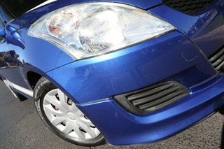 2011 Suzuki Swift FZ GL Blue 4 Speed Automatic Hatchback