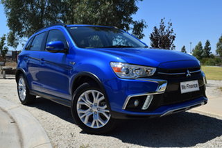2018 Mitsubishi ASX XC MY19 ES 2WD ADAS Blue 1 Speed Constant Variable Wagon.