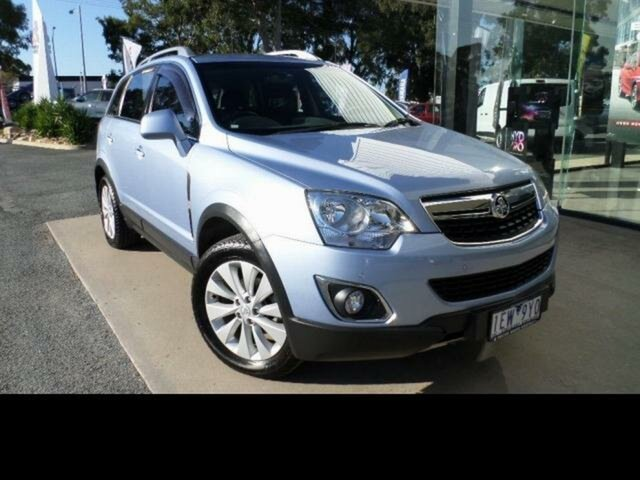 Used Holden Captiva CG MY15 5 LT (FWD) Wangaratta, 2015 Holden Captiva CG MY15 5 LT (FWD) Blue 6 Speed Automatic Wagon