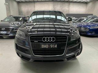 2008 Audi Q7 MY08 TDI Quattro Black 6 Speed Sports Automatic Wagon.