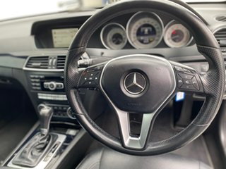 2013 Mercedes-Benz C-Class C204 MY13 C180 BlueEFFICIENCY 7G-Tronic + White 7 Speed Sports Automatic