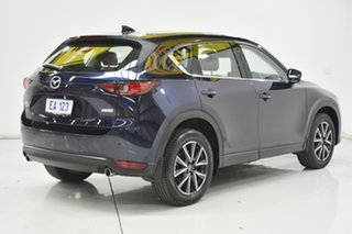 2018 Mazda CX-5 KF4WLA Akera SKYACTIV-Drive i-ACTIV AWD Blue 6 Speed Sports Automatic Wagon
