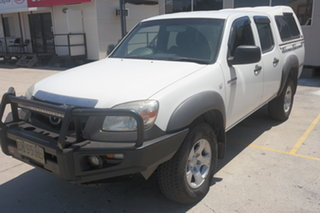 2010 Mazda BT-50 UNY0E4 DX White 5 Speed Manual Utility