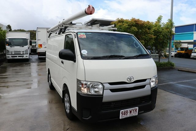 Used Toyota HiAce KDH201R LWB Robina, 2016 Toyota HiAce KDH201R LWB French Vanilla 4 speed Automatic Van