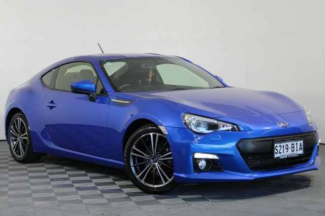 Used Subaru BRZ Z1 MY14 Wayville, 2014 Subaru BRZ Z1 MY14 Blue 6 Speed Sports Automatic Coupe