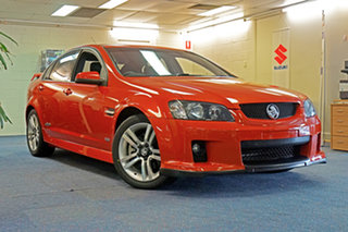 2006 Holden Commodore VE SS Orange 6 Speed Sports Automatic Sedan.