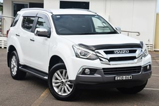 2018 Isuzu MU-X MY18 LS-T Rev-Tronic White 6 Speed Sports Automatic Wagon.