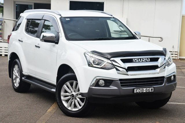 Used Isuzu MU-X MY18 LS-T Rev-Tronic North Gosford, 2018 Isuzu MU-X MY18 LS-T Rev-Tronic White 6 Speed Sports Automatic Wagon