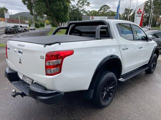 2017 Mitsubishi Triton MQ MY17 GLS Double Cab Sports Edition White 6 Speed Manual Utility