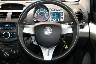 2011 Holden Barina Spark MJ CD White 5 Speed Manual Hatchback