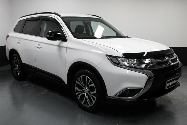 Used Mitsubishi Outlander ZK MY16 LS 2WD Cardiff, 2016 Mitsubishi Outlander ZK MY16 LS 2WD White 6 Speed Constant Variable Wagon