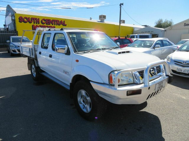 Used Nissan Navara D22 Series 5 ST-R (4x4) Morphett Vale, 2012 Nissan Navara D22 Series 5 ST-R (4x4) White 5 Speed Manual Dual Cab Pick-up
