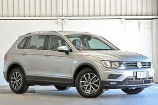 2018 Volkswagen Tiguan 5N MY18 132TSI DSG 4MOTION Comfortline Silver 7 Speed.
