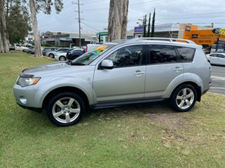 2008 Mitsubishi Outlander ZG MY08 VR Silver 6 Speed Sports Automatic Wagon
