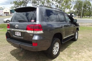 2016 Toyota Landcruiser VDJ200R Sahara Grey 6 Speed Sports Automatic Wagon