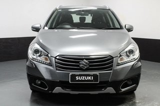 2015 Suzuki S-Cross JY GLX Silver 7 Speed Constant Variable Hatchback.