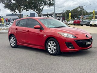 2010 Mazda 3 MZR-CD Red Manual Hatchback.