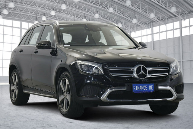 Used Mercedes-Benz GLC-Class C253 GLC220 d Coupe 9G-Tronic 4MATIC Victoria Park, 2016 Mercedes-Benz GLC-Class C253 GLC220 d Coupe 9G-Tronic 4MATIC Black 9 Speed Sports Automatic