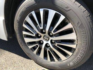 2019 Toyota Granvia GDH303R VX Silver Pearl 6 Speed Sports Automatic Wagon