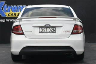 2010 Ford Falcon FG XR6 Turbo 50th Anniversary White 6 Speed Sports Automatic Sedan