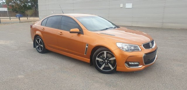 Used Holden Commodore VF II MY17 SS Elizabeth, 2017 Holden Commodore VF II MY17 SS Orange 6 Speed Sports Automatic Sedan