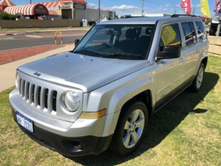 2014 Jeep Patriot MK MY14 Sport CVT Auto Stick 4x2 Silver 6 Speed Constant Variable Wagon