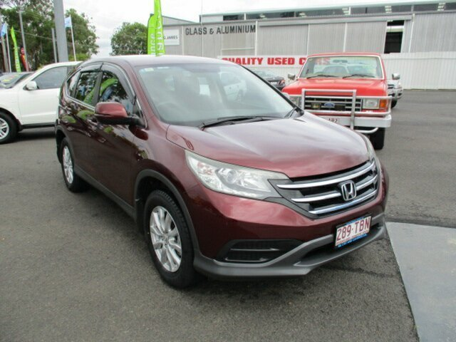 Used Honda CR-V Woodridge, 2013 Honda CR-V Red 4 Speed Automatic Wagon