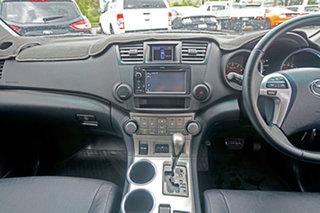 2012 Toyota Kluger GSU40R MY12 KX-S 2WD White 5 Speed Sports Automatic Wagon