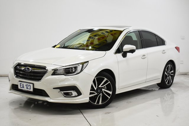 Used Subaru Liberty B6 MY19 2.5i CVT AWD Premium Brooklyn, 2019 Subaru Liberty B6 MY19 2.5i CVT AWD Premium White 6 Speed Constant Variable Sedan