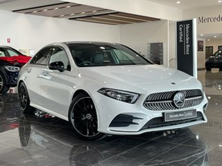 2019 Mercedes-Benz A-Class V177 A200 DCT White 7 Speed Sports Automatic Dual Clutch Sedan.