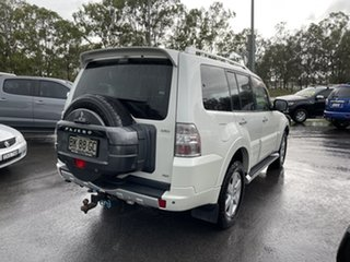 2010 Mitsubishi Pajero NT MY11 RX White 5 Speed Sports Automatic Wagon
